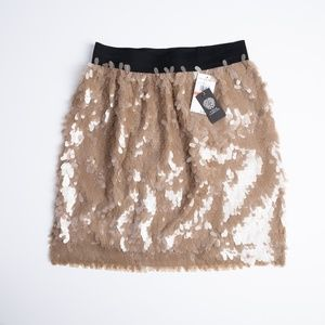 NEW Vince Camuto sequin skirt size XS